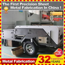 Custom professional wholesale travel trailers in Guangdong province