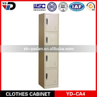2014 Good quality knock down 4 door steel filing cabinet in France market
