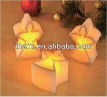 Small Angel Shape Led Candle