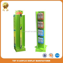 Acrylic Floor Display Stand For Tell Phone Accessories