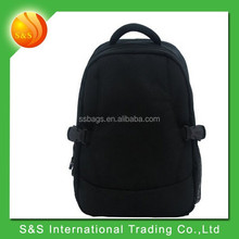 Travel backpack classic balck large space diaper changing bag