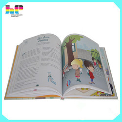 Overseas book printing cheap children book print full color book for sale