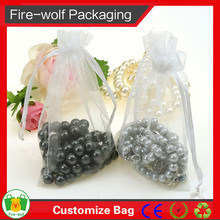 Lady Gift Wedding Candy Drawstring Organza Bag