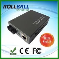 Competitive prices 10/100M fiber optic to rj45 media converter