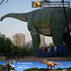 N-W-Y-997-50m waterproof animatronic rocking brachiosaurus dinosaur