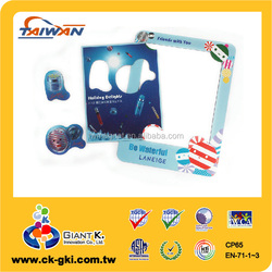 Promotional facial care product photo frame advertising fridge magnet