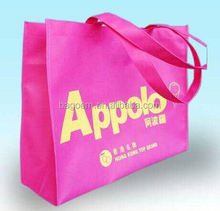 fashion stylish purple non woven bag with personal design