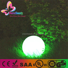 hot sell plastic housing outdoor glowing decor 25cm new solar charging balls