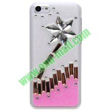 Shining Diamond Shimmering Powder Case for iPhone 4G