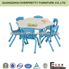 Mesas y silla de jardín de infantes para, jardín de infantes en el aula de muebles