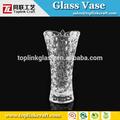 point de perles en verre vase