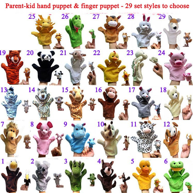 29styles parent-kid set with number to chose