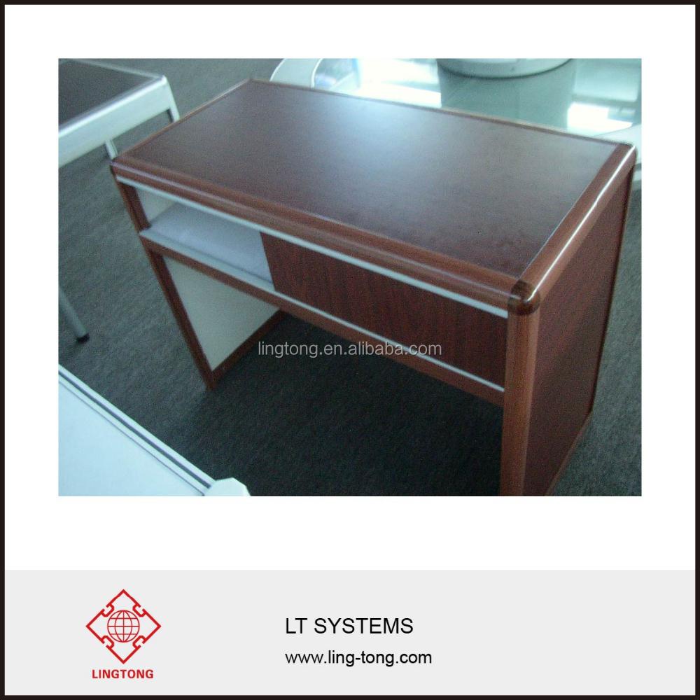 Exhibition Stand Reception Desk : White aluminium frame small reception desk for exhibition