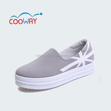 Mercado del reino unido mejores ventas zapato de lona, china fábrica de zapatos