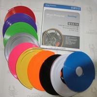 Various colors car wheel hub tire sticker car decoration wheel protector