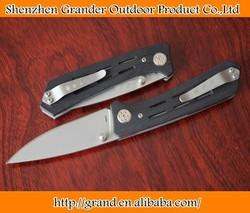 KS3820 Folding Knife G10 Handle Stainless Steel Pocket Knives 4inch closed 5377