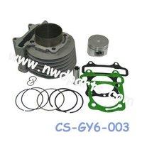 motorcycle cylinder kit bore kit,GY6 125 Cylinder kit,152QMI engine parts