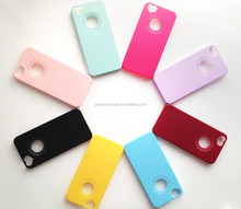 1pc Pastel Candy Color for iPhone 5 5s high Quality Hard Plastic Case for DIY deco