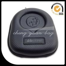 waterproof PU headphone bag EVA headphone case with wholesale price