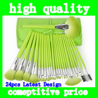 2014 Latest Collection Original 24pcs Cosmeti Brushes Kit Professional 24pcs Makeup Brush Set Tools Make up Brushes Set