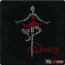 A8032 wholesale Dancing girl design motif
