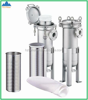 China Professional Manufacturer Quality Stainless Steel Bag Filter, SS Bag Filter Housing