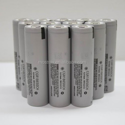 CGR18650 battery CGR18650CH 2250mah 3.7v li-Ion high drain battery