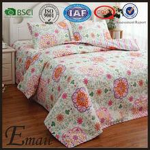 Used hotel bedding sheet set/digital printed bed sheets/sheet