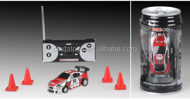 Coke Can Car Mini RC Car Model Racing Remoto Control RC Car