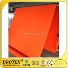 China Manufacture Price 100% cotton 200gsm flame retardant fabric For sale