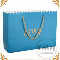Cheap new design retail art paper bag with great price