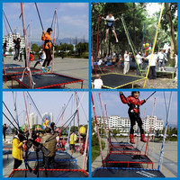 2014 the hot sale mini bungee trampoline harness,children bungee jumping equipment
