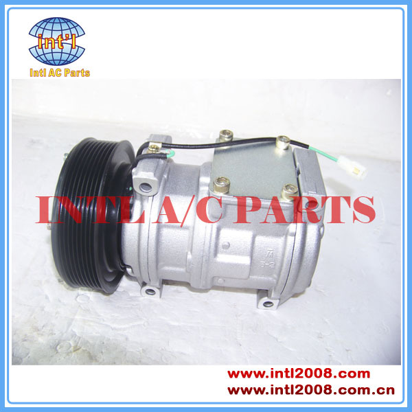 10PA17C Air conditioning compressor for John Deere Loaders AT172975 AT226273 AT168543 447180-5480 447200-3669 447220-7270