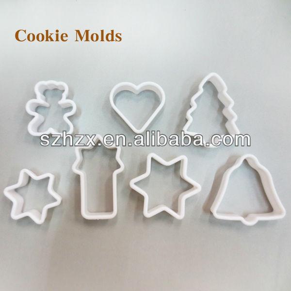 Khuôn bánh sô cô la bằng nhựa hình cây giáng sinh
