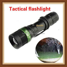 Wholesale Mini LED Torch 7W 300LM CREE Q5 LED Flashlight Adjustable Focus Zoom flashlight