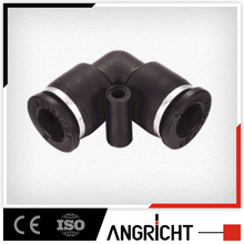 A103 PUL Elbow quick connect plastic pipe fitting 90 degree Made in China