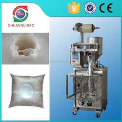 low price bag length 50-200mm ice liquid tea filling machine