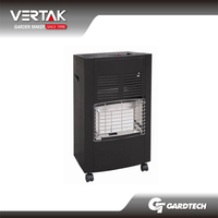 BSCI factory innovation glass panel gas heater