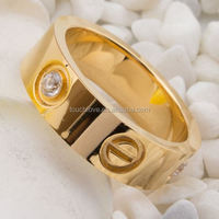factory stainless steel ring jewelry ring mounting