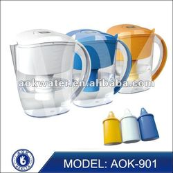AOK portable alkaline water pitcher remove 95% Chloride