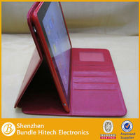2013 hot selling genuine leather case for ipad 4 case