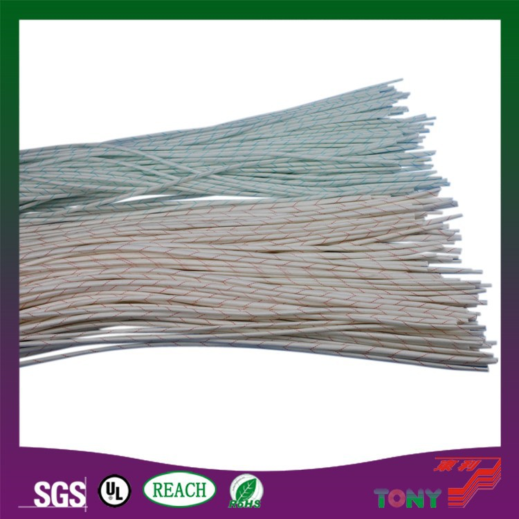 Polyvinyl Chloride Cable : Polyvinyl chloride coated pvc fiber glass insulating