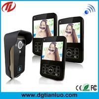 Villa use wifi PIR video door bell with 600m transmission range easy install