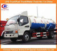 8cbm 8M3 sewage suction truck 10m depth suction 8000L sewer tank truck