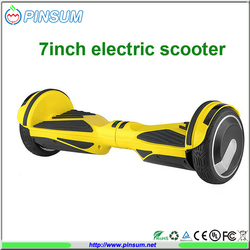 Smart self balance electric scooter 7 inch mini scooter two wheels hoverboard