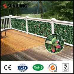 chinese new year cheaper plastic garden edging leaf fences
