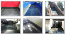 coal bunker for coal chute/Uhmwpe poor liner\/uhmw pool linings