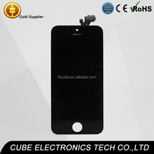 mobile lcd digitizer+phone lcd screen+touch for iphone 5 display