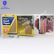 Emery,EVA,sandpaper,pp board Material and Double Side Type High quality nail file