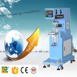 china Semi-Automatic Single 1-Color Sealed Ink Cup Pen coffee cup plastic/paper cup Pad Printing Machine LC-PM1-100T